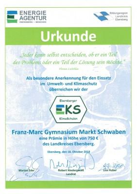 Urkunde_Klimaschulen