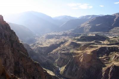 Die Schlucht des Canyons