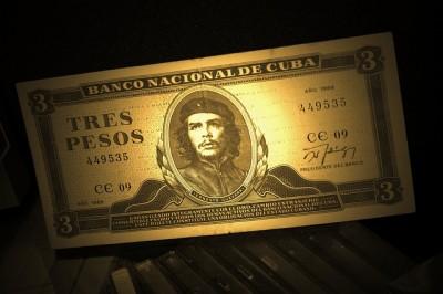 Die kubanische Währung, der Peso