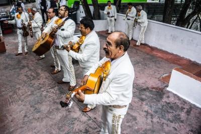 Mariachi Musikgruppe