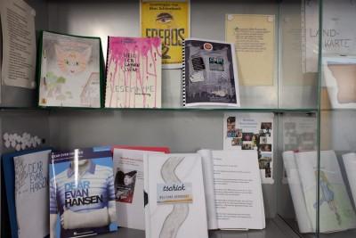 Klasse 8C-Literaturprojekt-Foto-Schaukasten